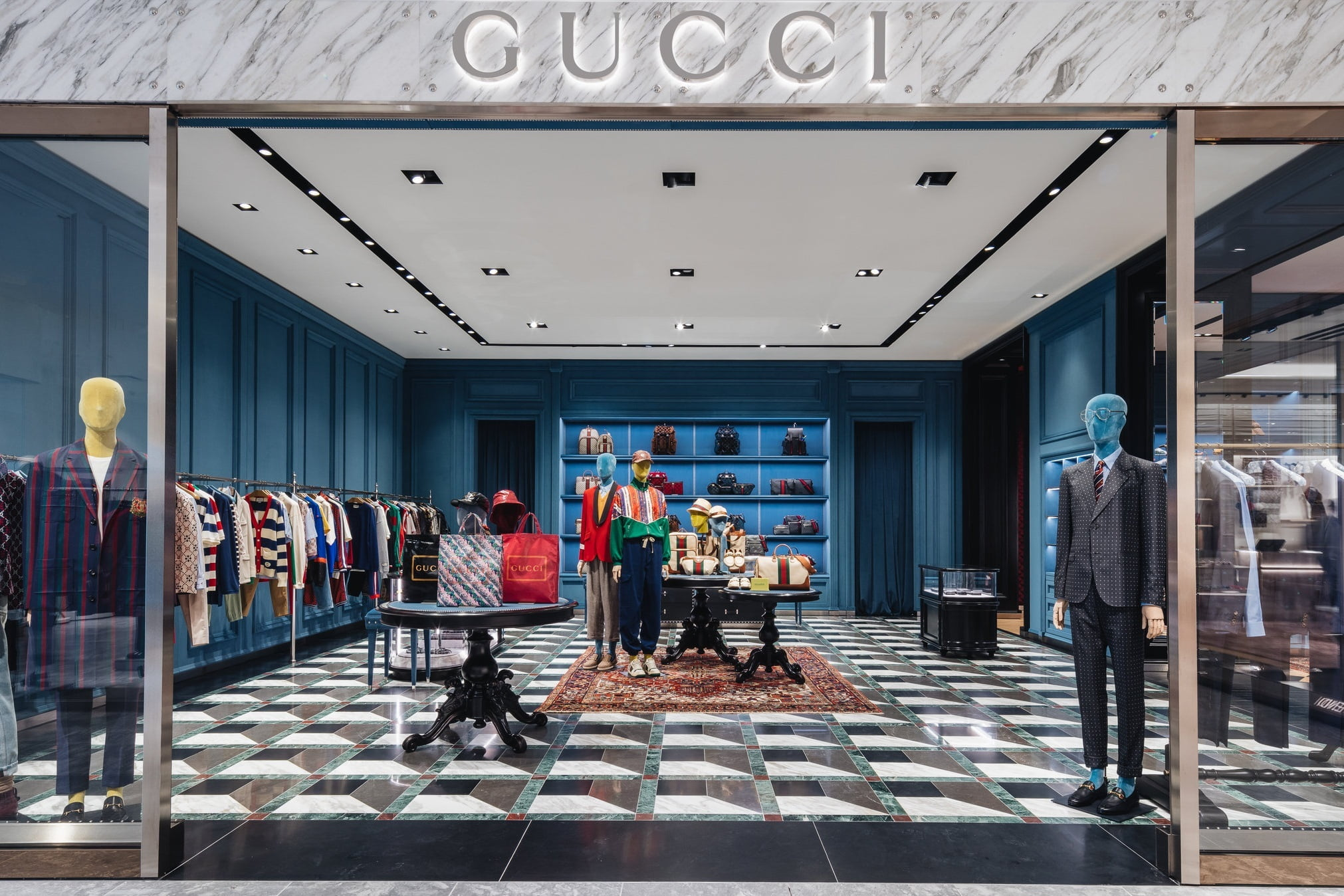Gucci Unveils Stunning 1st-in-Canada 'World of' Concession Boutique [Photos]
